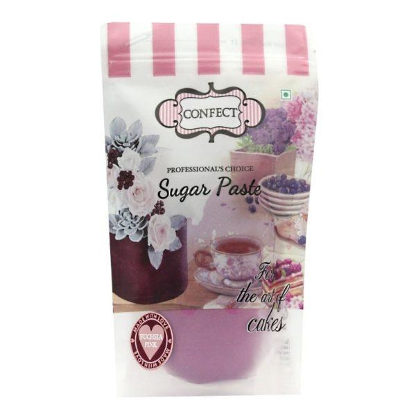 Fuchsia Pink Sugar Paste-1