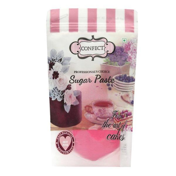 Hot Pink Sugar Paste-1