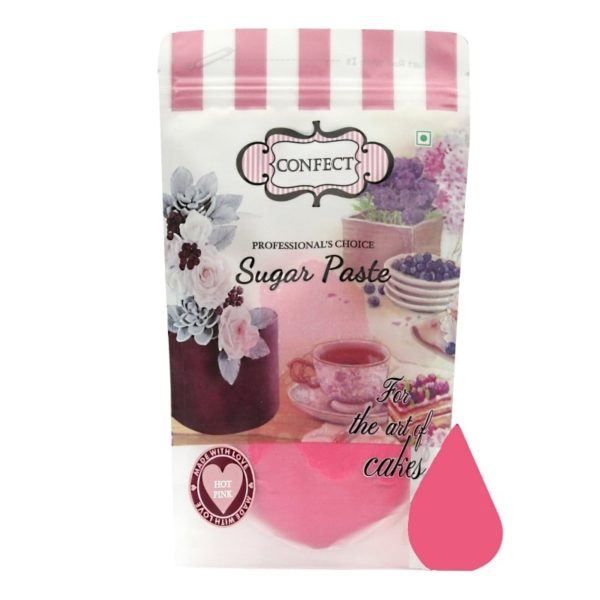 Hot Pink Sugar Paste