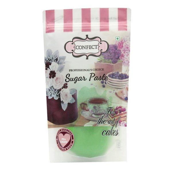 Pea Green Sugar Paste-1