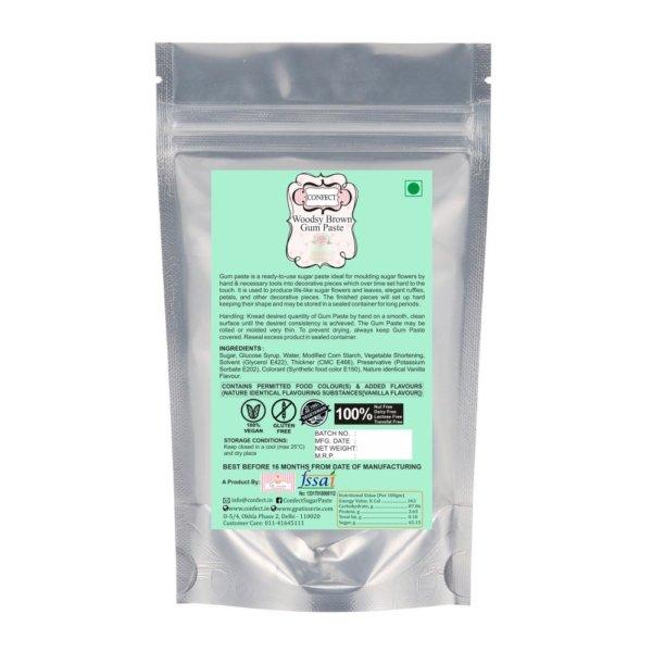 Woodsy Brown Gum Paste 250 Gms