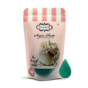 Emrald Green Sugar Paste 250 Gms (1)